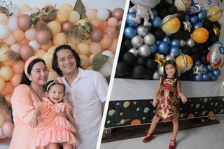 Mariel Rodriguez, Robin Padilla hold back-to-back birthday parties for daughters