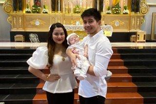 Dianne Medina, Rodjun Cruz's son baptized