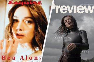 'Thank you, next': Bea Alonzo welcomes 2020 with 2 magazine covers