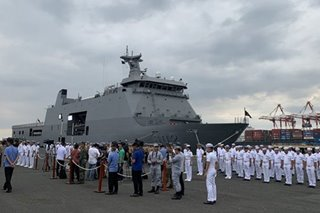 Philippines sends 2 ships on 'sacred mission' in Middle East