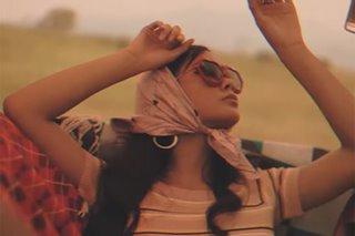 Ylona Garcia goes for vintage glam for pre-debut video