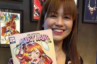 Marvel's latest issue of The Amazing Mary Jane features cover art of Pinay artist