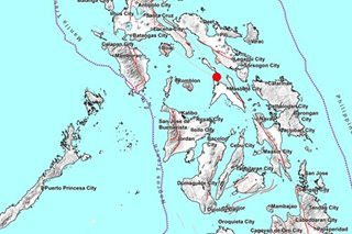 Magnitude-4.1 quake hits Masbate; no damage expected