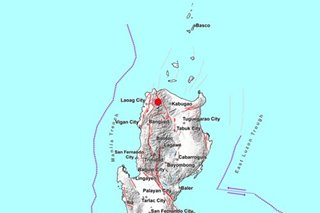 M4.3 quake hits Ilocos Norte; no damage expected