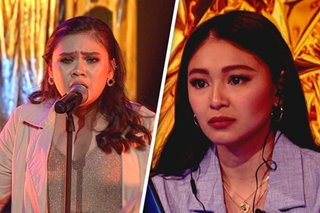 'Sobrang sakit': Nadine Lustre moved by song choice in 'Your Moment' semis