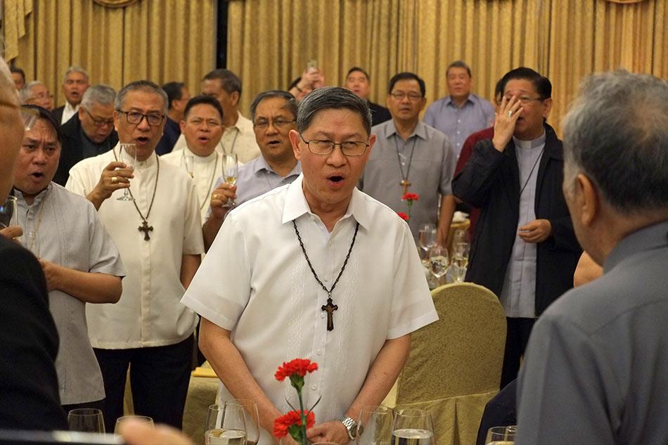 'You'll never walk alone': Filipino bishops bid Cardinal Tagle goodbye 1