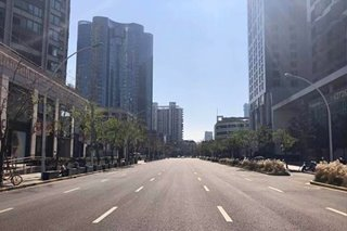 LOOK: Some Shanghai streets virtually empty, as coronavirus alert persists