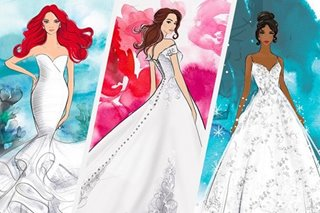 LOOK: Disney introduces princess-inspired wedding gowns