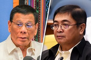 Duterte shields Morente as BI battles corruption allegations