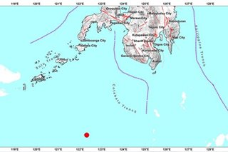 Magnitude-4.2 quake hits Tawi-Tawi; no damage expected
