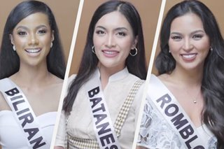 WATCH: Miss Universe PH candidates speak in their own regional languages