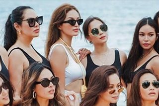 Where to get the viral black swimsuit at Sarah Lahbati's bachelorette