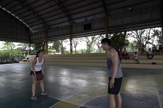 WATCH: Robi Domingo, girlfriend in basketball challenge