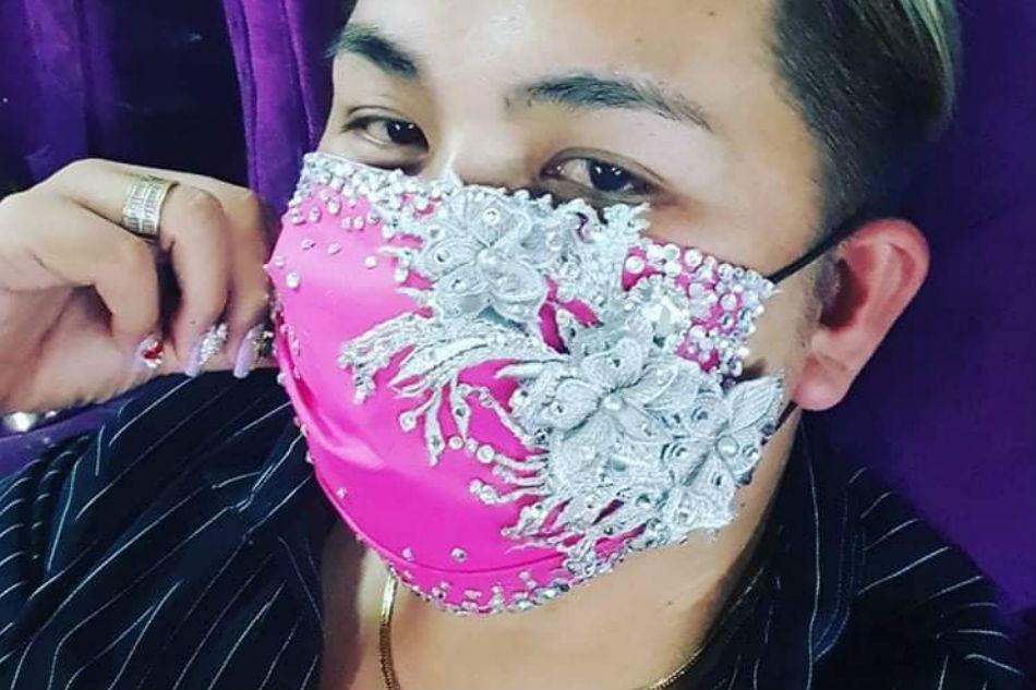 LOOK: Bulacan designer makes fashionable face masks | ABS-CBN News