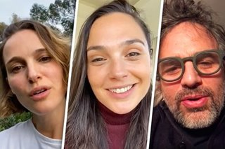 Gal Gadot leads 'Imagine' cover with celebrity friends amid COVID-19 crisis