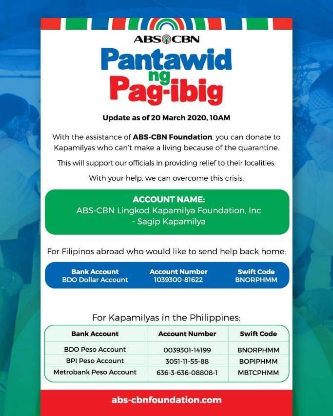 'Pantawid' campaign: 'Bayanihan' ng publiko, mga korporasyon, LGUs 1