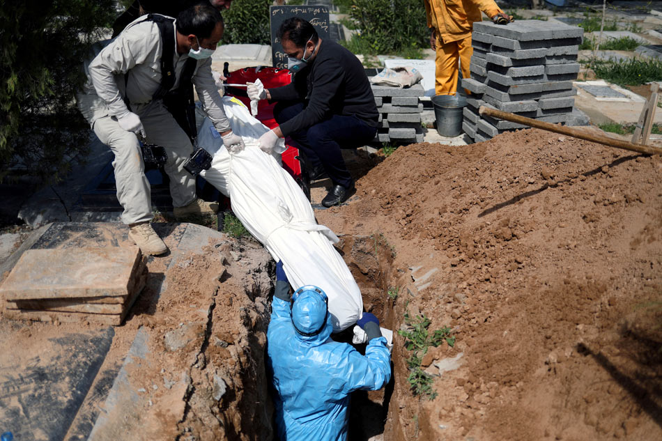 Iran rejects 'foreign' help as COVID-19 death toll nears 2,000 1