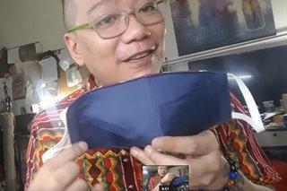 PANOORIN: Fashion designer, nagturo kung paano gumawa ng face mask