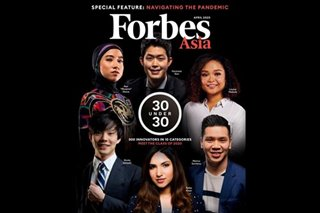 5 Filipinos in Forbes '30 Under 30 Asia' list for 2020