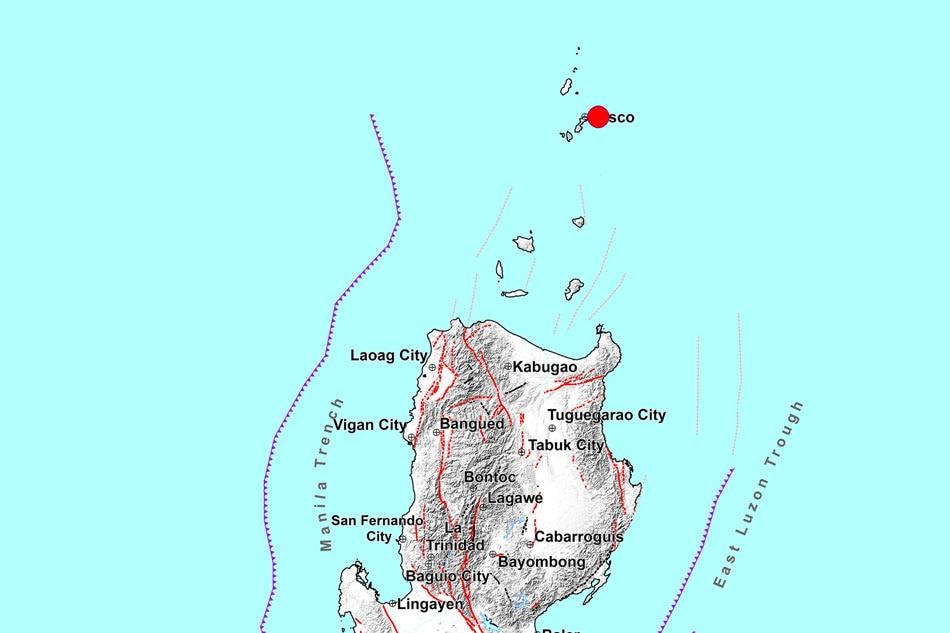 Magnitude-6.2 quake jolts Batanes; aftershocks expected 1