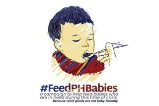 #FeedPHBabies: Social media campaign binuo para sa mga ina, sanggol na kailangan ng ayuda