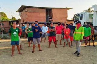 Mahigit 50 construction workers na stranded sa Laoag City, umapela ng ayuda para sa kanilang pamilya