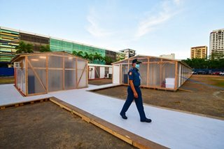 PNP sets up 120-bed quarantine facility for personnel as COVID-19 cases climb to 96