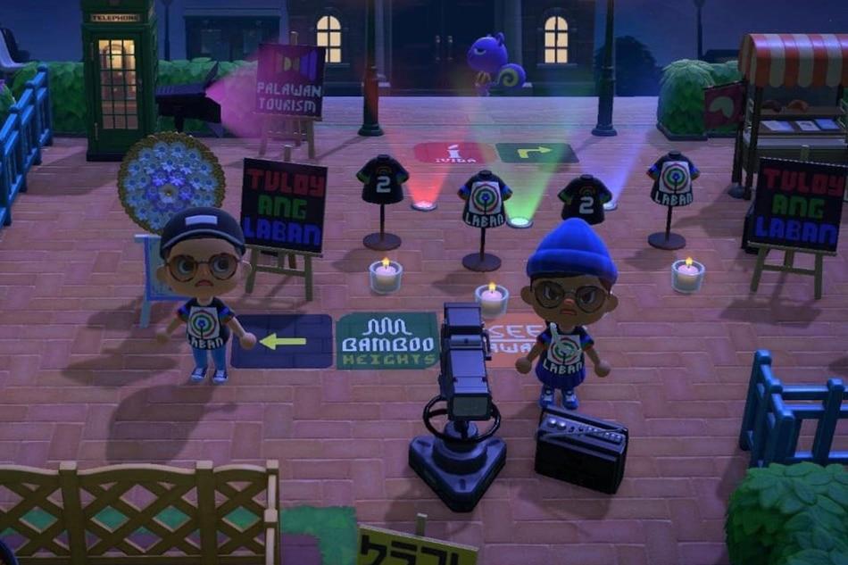 LOOK: Laban Kapamilya shirts and virtual protest in popular Nintendo game Animal Crossing 1
