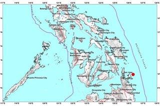 Magnitude 4.2 quake jolts Surigao del Norte