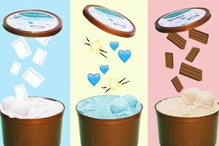 Dessert shop partners with Arce Dairy to create Haw Haw, Blue Vanilla, Choc Nut ice cream