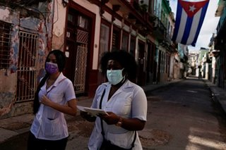 Cuba credits 2 drugs with slashing coronavirus death toll