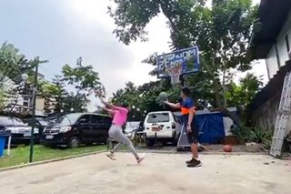 Call them 'lob birds'? Alyssa, Kiefer take partnership to higher level in dunk session