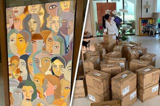 LOOK: Heart Evangelista sells artwork to buy 550 tablets for students
