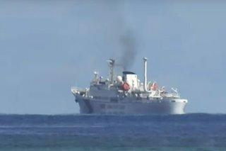 Barko ng China nagpapatrolya sa palibot ng Pag-asa Island