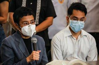 Ressa, Santos on conviction: Judge 'failed to appreciate the role of the media'