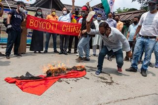 Anti-China protests continue in India