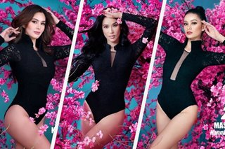 IN PHOTOS: Bb. Pilipinas 2020 candidates in swimwear