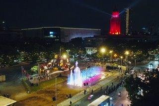 Manila lights up for frontliners on founding anniversary