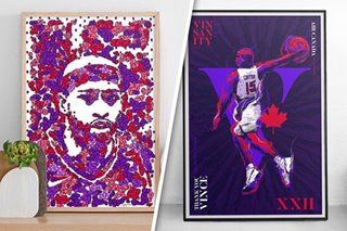 Pinoy artists featured on NBA website's Vince Carter tribute