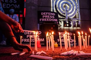 Lighting a candle for press freedom