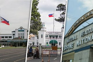 Sell Camp Crame, Camp Aguinaldo, New Bilibid lots for COVID-19 funds: Drilon
