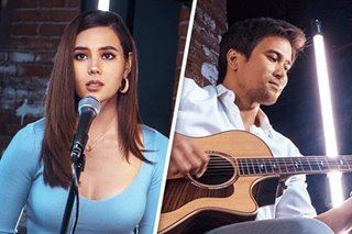 WATCH: Catriona Gray, Sam Milby share passion for music in fresh collab