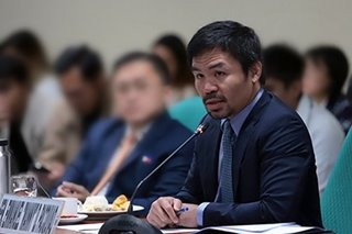 Pacquiao: Gov't 'biblically' allowed to impose death penalty on heinous crimes