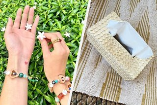 From pili charm bracelets to buri tissue holders: Heart Evangelista shines spotlight on Sorsogon products