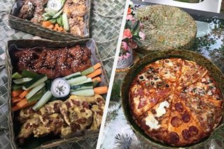 TINGNAN: Eco-friendly na lalagyan ng pizza, chicken wings, patok sa Laguna