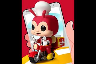 LOOK: New Funko Pop figure shows Jollibee riding a motorcycle