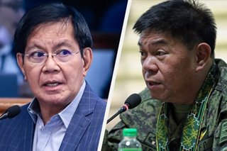 AFP chief's comment on social media 'regulation' may cost him CA nod: Lacson