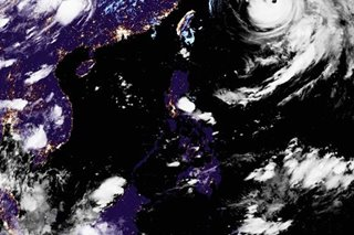 Typhoon Kristine leaves PAR