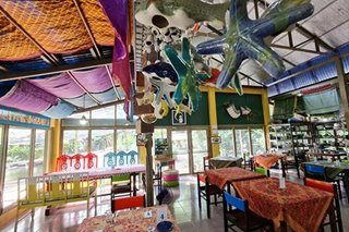 Antipolo eats: Crescent Moon Cafe offers artistic garden dining near the metro