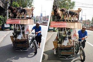 LOOK: A pedicab as 'tiny house'